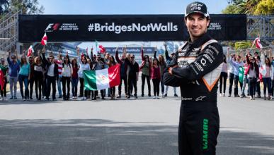 Sergio Pérez y el GP de México, unidos contra Donald Trump