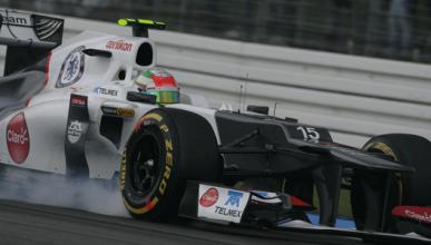 Sergio Pérez - Sauber - Alemania 2012