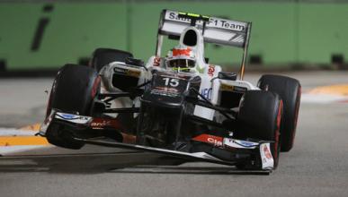 Sergio Pérez - Sauber - GP Singapur 2012