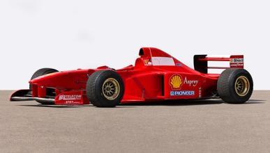 A subasta el Ferrari F310B de Michael Schumacher