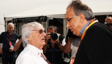 Tensión entre Ecclestone, Ferrari y el nuevo dueño de la F1