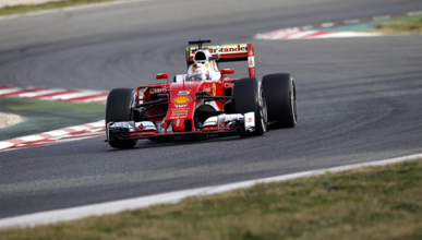 Test F1 2016, día 1: las mejores imágenes