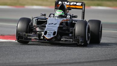 Test F1 2016, día 3: Hülkenberg lidera la jornada