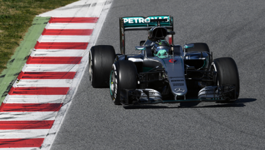 Test F1 2016, día 5: Rosberg al mando, Alonso tercero
