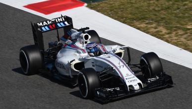 Test F1 2016, día 6: Bottas lidera, McLaren progresa