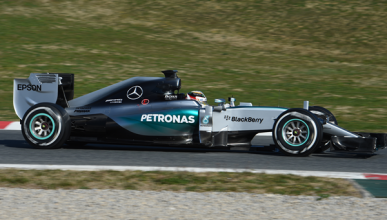 Test F1: Mercedes vuelve a mostrar su fuerza en Barcelona