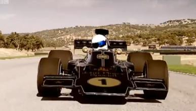 'Top Gear' prueba el Lotus de Fittipaldi de 1972 (vídeo)