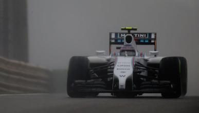 Valtteri Bottas se puso a 316 km/h con lluvia en China