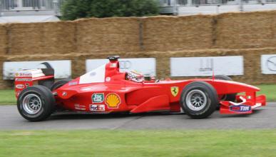 A la venta el Ferrari F-2000 de Michael Schumacher