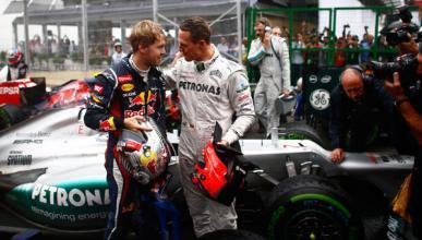 """Vettel sobre el accidente de Schumacher: """"Estoy en shock"""""""