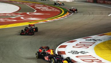 Vettel - Button - Alonso - GP Singapur 2012