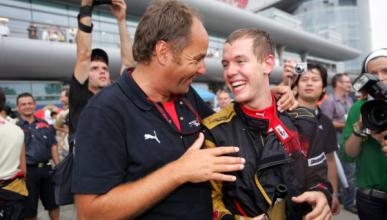Vettel se equivocó al fichar por Ferrari, según Berger