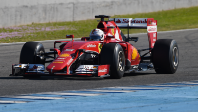Vettel lidera en el primer día de pruebas en Jerez