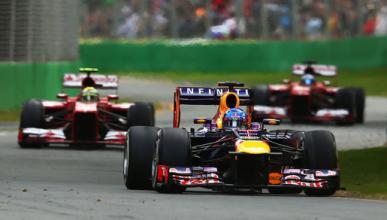 Vettel - Massa - Alonso - Australia 2013