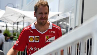 """Vettel: """"no entiendo por qué me sancionan a mí"""""""