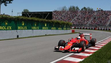 Vettel, penalizado por adelantar con bandera roja