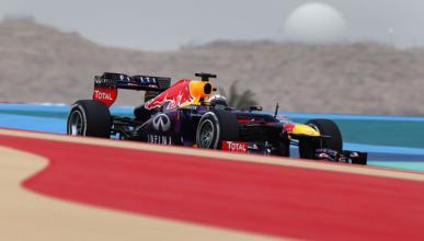 Vettel Red Bull Bahréin 2013
