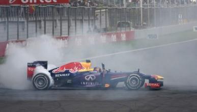 Vettel y Red Bull, sancionados por hacer trompos