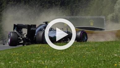 Vídeo: accidente de Nico Rosberg en Austria