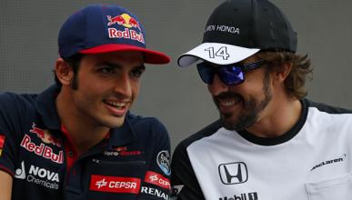 Vídeo: Alonso y Sainz se entrevistan