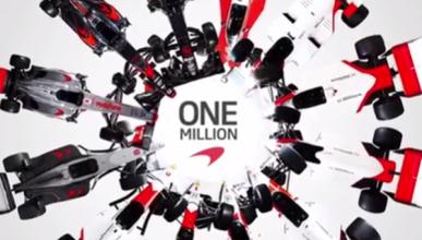 Vídeo: así celebra McLaren F1 su millón de seguidores