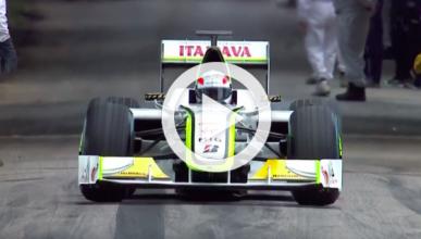 Vídeo: el Brawn GP campeón de 2009 vuelve a pista
