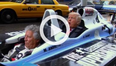 Vídeo: El día que Donald Trump alucinó en un Indycar