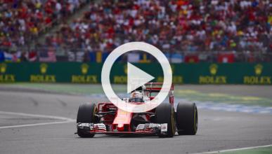 Vídeo: el gran fallo de Vettel en el GP de Alemania