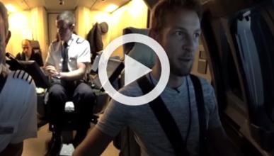 Vídeo: Jenson Button, piloto de avión por un día