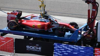 Vídeo: Kvyat deja fuera de carrera a Vettel