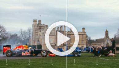 Vídeo: ¿qué pasa si enfrentamos un F1 y un equipo de rubgy?