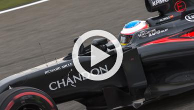 Vídeo: la rabia de Alonso en China