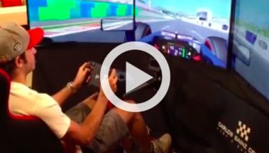 Vídeo: una vuelta al Circuito de Hungría con Carlos Sainz