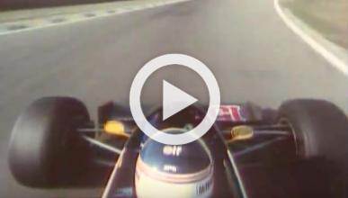 Vídeo: vuelta al pasado en el Renault F1 de 1983 con Prost