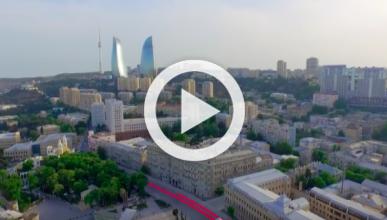 Vídeo: vuelta virtual al circuito de Bakú