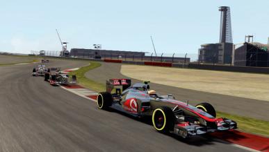 Videojuego F1 2012 - Circuito Austin