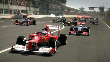 Videojuego F1 2012 - Circuito de Monza - GP Italia