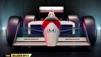 En el videojuego F1 2017 podrás pilotar el McLaren de Senna