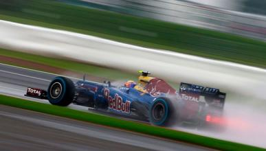Webber Red Bull Silverstone