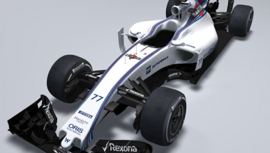 El Williams FW37, primer f1 de 2015 en ver la luz