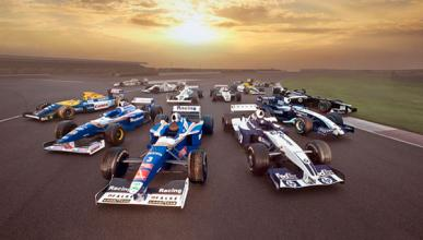 Williams historia monoplazas