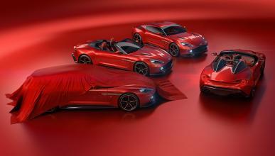 Aston Martin Vanquish Zagato Speedster y Shooting Brake
