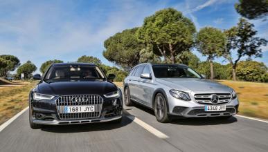 Audi A6 All Road contra Mercedes Clase S All Terrain