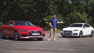 Audi RS 5 Coupé contra Audi S5 Coupé