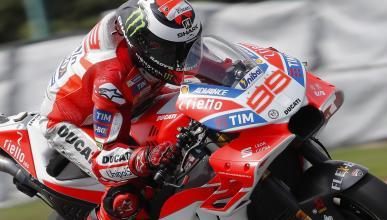 Carenado Jorge Lorenzo y Ducati - Brno 2017