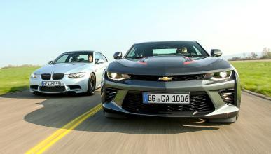 Comparativa: Chevrolet Camaro V8 vs BMW M3 de segunda mano