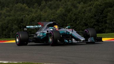 Hamilton consigue la pole en el GP de Bélgica