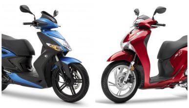 Honda SH125i y KYMCO Agility City 125, ¿cuál es mejor?