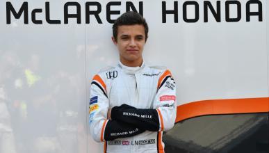 Lando Norris prueba con McLaren