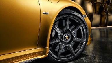 Llantas carbono trenzado Porsche 911 Turbo S Exclusive Series